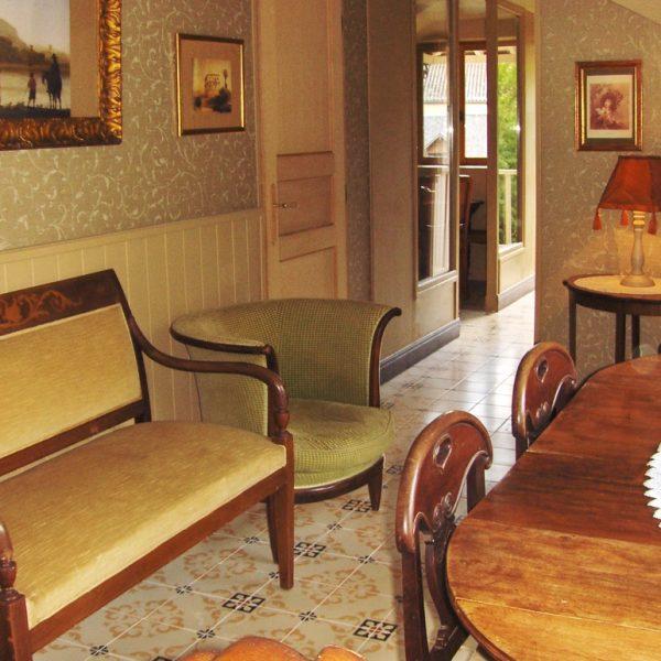Salle à manger Gîte Chambre d'hôte Normandie